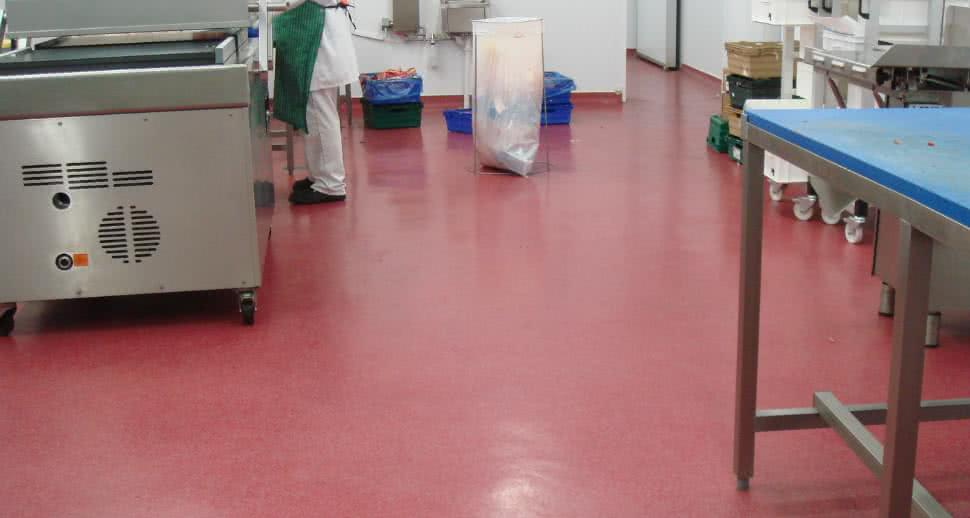 Meat factory flooring