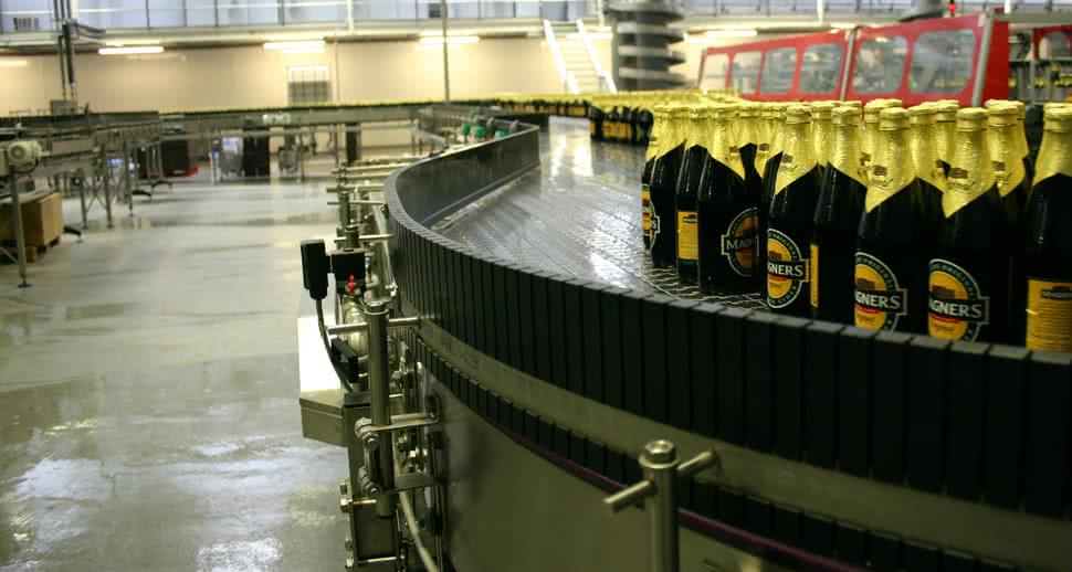 Bulmers hygienic packing floor