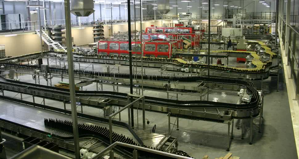 Durable beverage packing floor