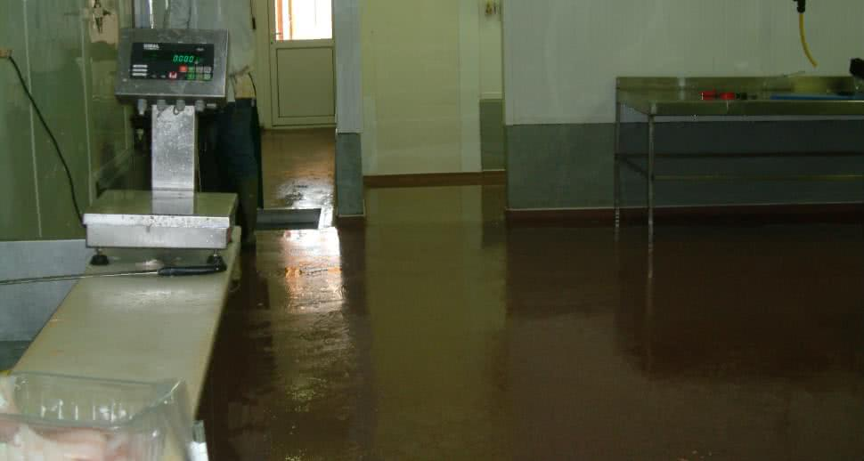 Durable flooring for fish facility