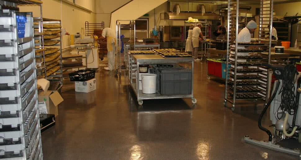 Durable Bakery Flooring