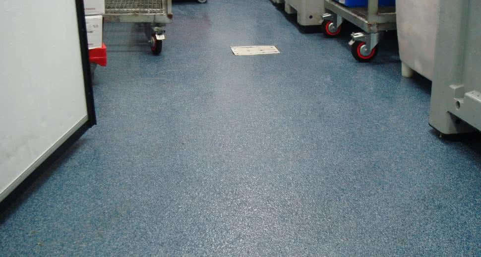 non slip meat factory flooring