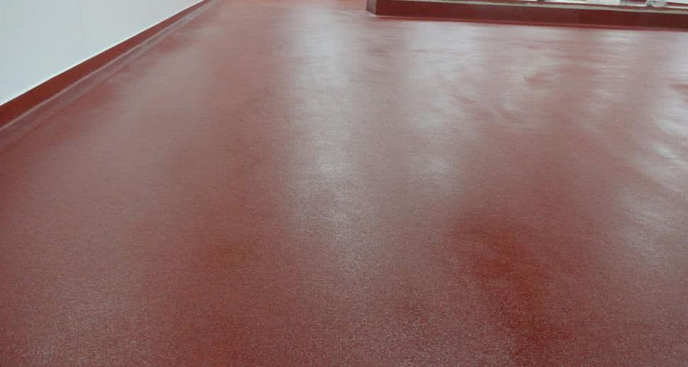 Meat Packing Facility PMMA Flooring