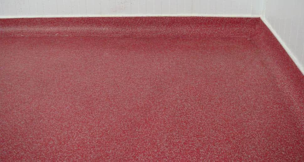non porous PMMA Flooring
