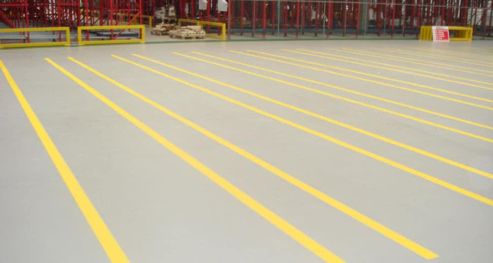 Food and Beverage PMMA Flooring