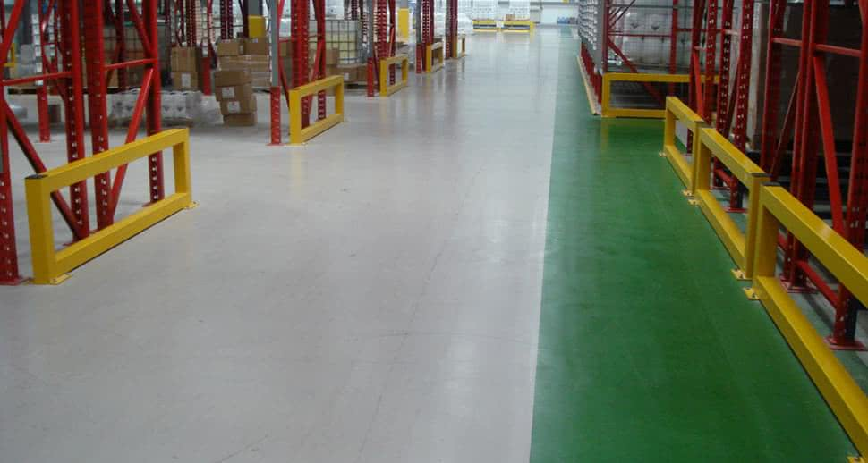 Durable PMMA resin Flooring