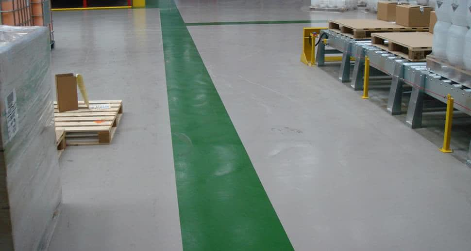 Heavy duty warehouse flooring