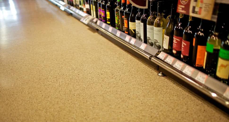 Hygienic Supermarket Flooring