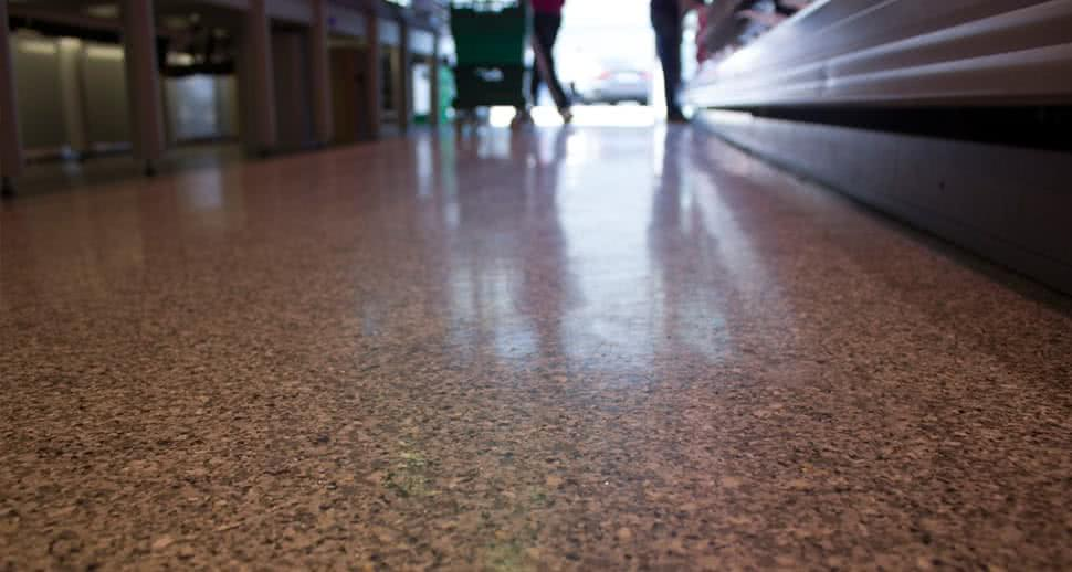 PMMA Supermarket Flooring