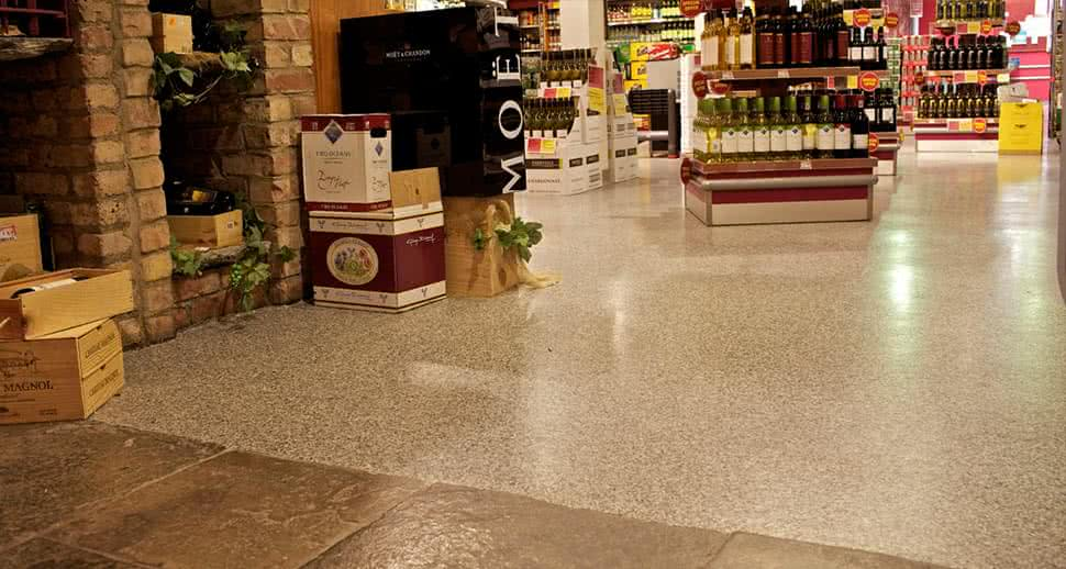 Durable Supermarket Flooring