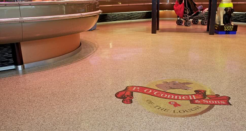 Custom Supermarket Flooring