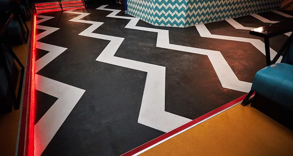 Stylish Bar Flooring