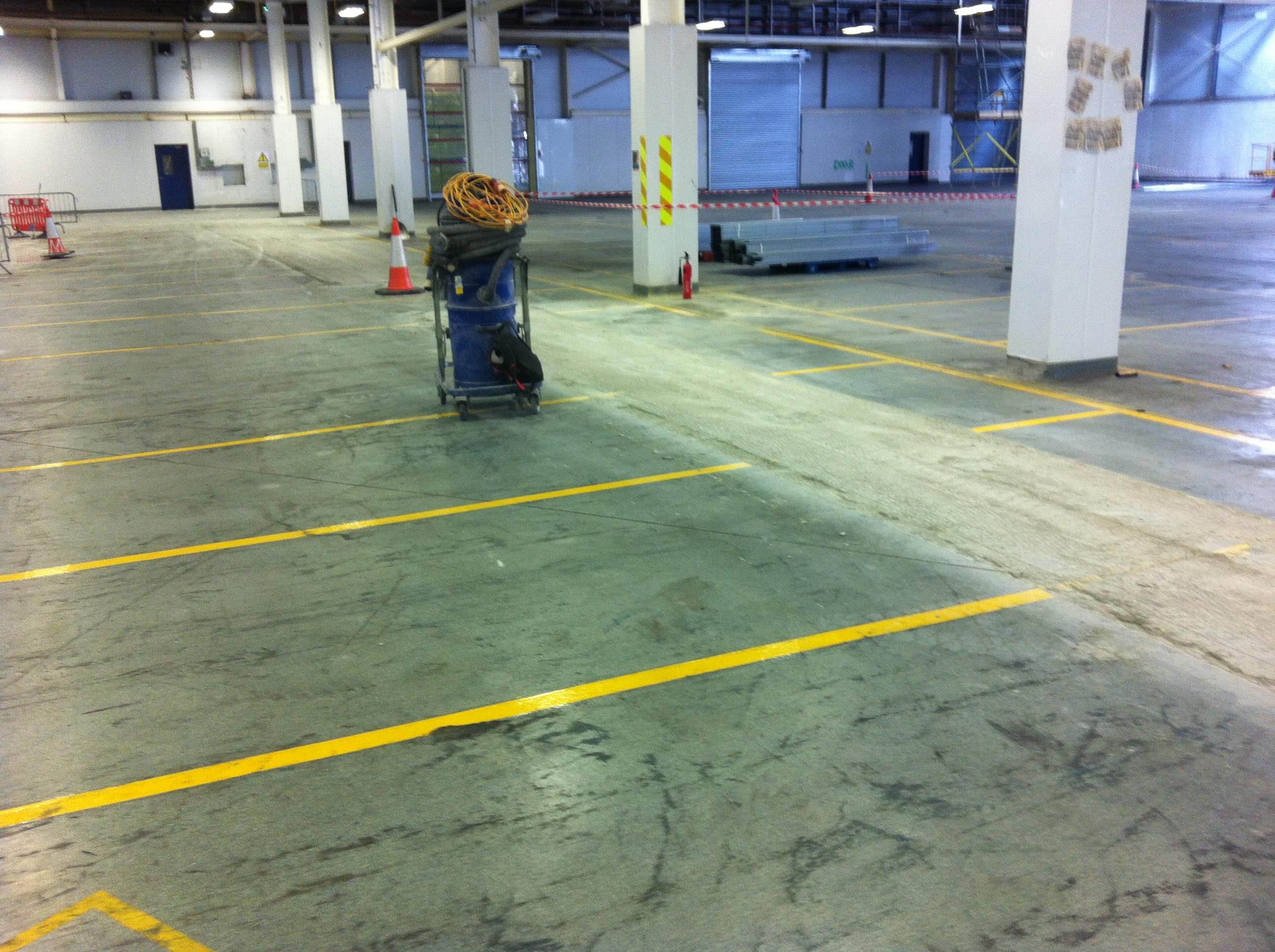 Before Resin Flooring Installation