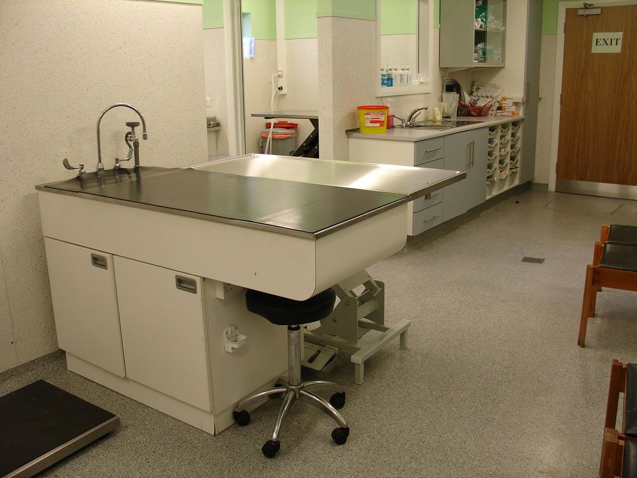 Resin Veterinary Flooring