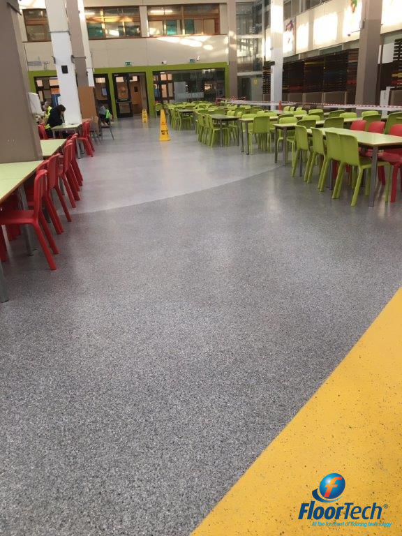 Canteen Hygienic Resin Floor