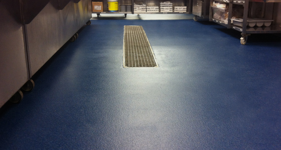 Hygienic Hotel Kitchen Flooring