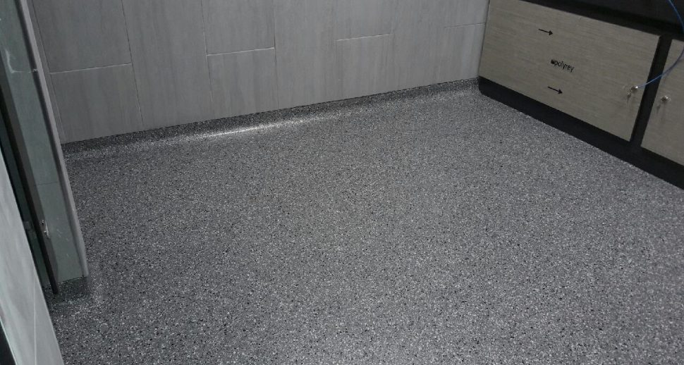 seamless resin flooring